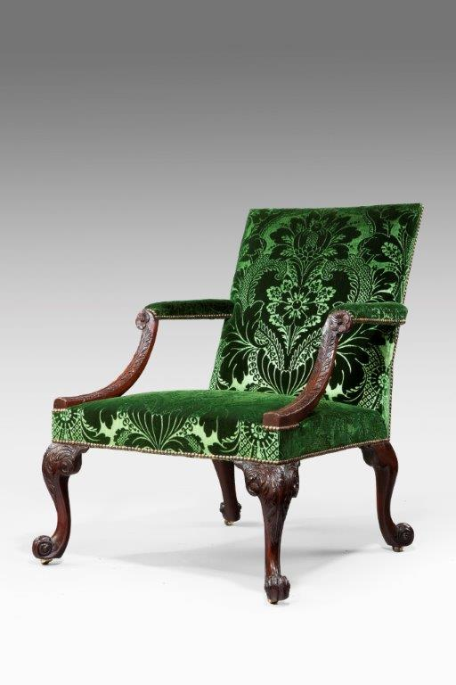 George II Library Arm Chair